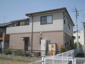 岐阜市K様邸外壁塗装