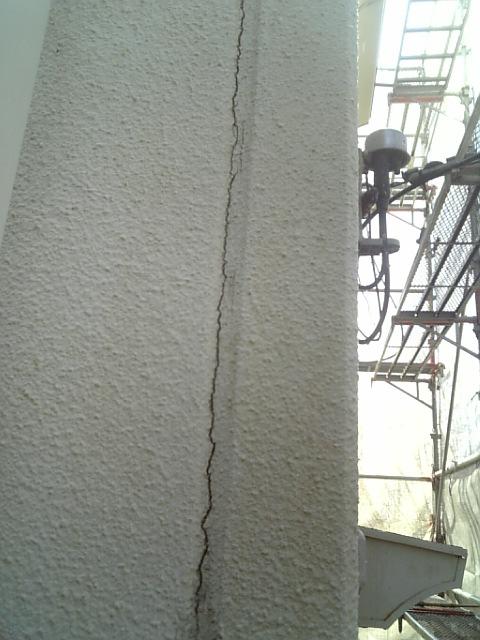 ALC外壁からの雨漏り